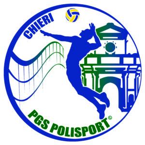 LOGO PALLAVOLO UFFICIALE verde e blu giallo 2
